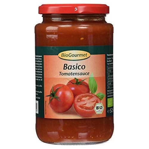 BioGourmet Bio Basico Tomatensauce, 550g