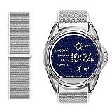 LvBU Classic Nylon Reloj de Pulsera para Michael Kors Bradshaw Smart Watch