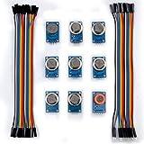 Kuman K24D 9 Kinds of Modules Arduino Sensor Kit for