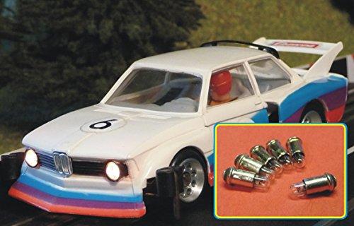 Slotcar 6-STÜCK Glühbirne Serien Beleuchtung Carrera UNIVERSAL / SERVO