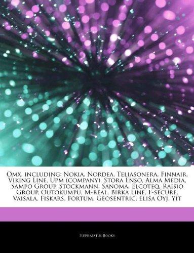 articles-on-omx-including-nokia-nordea-teliasonera-finnair-viking-line-upm-company-stora-enso-alma-m