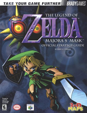 Legend of Zelda: Majora's Mask Official Strategy Guide (The Legend of Zelda Series) (Majora Ds)