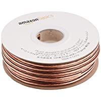 AmazonBasics 14-Gauge Audio Stereo Speaker Wire Cable - 100 Feet