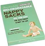 Beaming Baby Bio-Degradable Fragrance Free Nappy Sacks - Pack of 60 Nappy Sacks