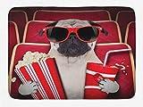 Aliyz Guarda film cani popcorn bibite e bicchieri foto animali tappetino bagno antiscivolo tappetini in porta esterna decorazione camera adatta bagno dell'hotel soggiorno camera letto cucina