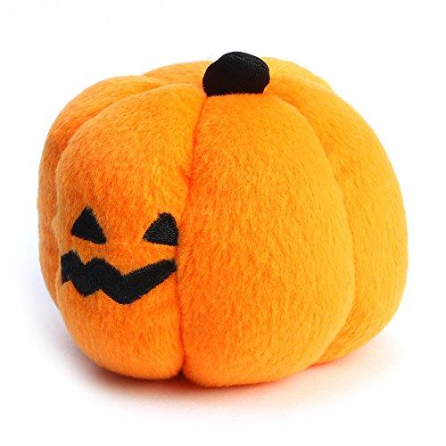 Tutoy Haustier Squeaky Spielzeug Hund Welpen Chew Halloween Plüsch Kürbis Sound Trainning Spielzeug Zeug Pet (Halloween Zeugs Für)