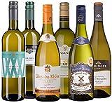 Wine A Porter Weißwein-Set 'Die Besten für jeden Tag', 6 trockene Weißweine aus Frankreich, Italien & Deutschland, Probierpaket für Weinliebhaber, schönes Weinpräsent, Jahrgang 2016, 6 x 0,75 l