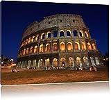 Colosseum in Rom Italien Italy 100x70cm Bild auf Leinwand, XXL riesige Bilder fertig gerahmt mit Keilrahmen. Kunstdruck auf Wandbild mit Rahmen. Günstiger als Gemälde oder Ölbild, kein Poster oder Plakat.