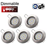 Spots LED Encastrables Dimmable GU10 Kimjo, 6W Blanc Neutre 4000K 550LM 82Ra Spot...