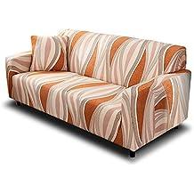 HOTNIU Funda de Sofá Elasticas Universal Fundas Decorativas para Sofas 4 Plazas, Antideslizante Protector/