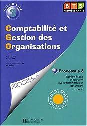 Comptabilité et Gestion des Organisations BTS 1ère année - ouvrage 3