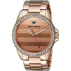 Juicy Couture Women's 1901290 Laguna Analog Display Quartz Rose Gold Watch