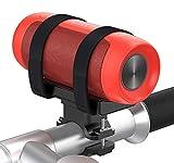 Cocoda Multifunzione Supporto Altoparlante Bluetooth per Bici, Portabottiglie per Bici, Cinturino Regolabile in Velcro per la Maggior Parte degli Altoparlanti Bluetooth, Torcia, Borraccia