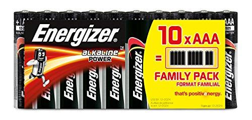 Energizer Batterie Alkaline Power AAA (Micro / LR03 10er Schlauchware)