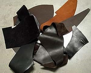Lanières de cuir,pièces de cuir de vachette forte cuir épais