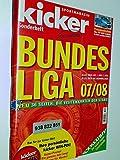 KICKER SONDERHEFT Bundesliga 2007/2008 mit Stecktabelle und Einsteck-Vereinsembleme sportmagazin, Deutschlands grösste Sportzeitung 4198520105407
