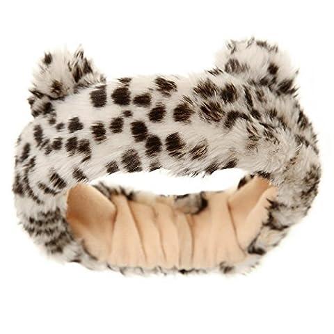 Hey Hey Twenty - Ladies Faux Fur Headband (Leopard Ears