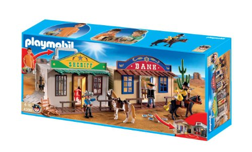 Playmobil 4398 - Villaggio Western Portatile