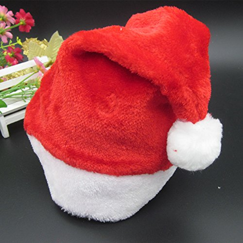 tern Erwachsene Kinder Weihnachten Santa Hut Weihnachtsgeschenk Samt Deckel, Kinder- Geld (3-8 Jahre Alt) ()