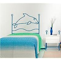 Preisvergleich für MuebleTienda Kopfteil aus Schmiedeeisen Mod. Delphin Einzeln Rosa