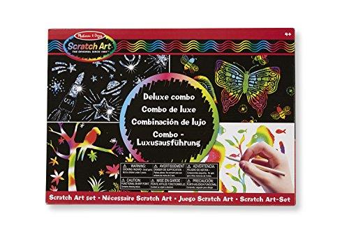 Melissa & Doug 15981 - Scratch Art-Set - Combo - Luxusausführung