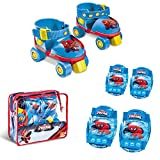 Mondo Spiderman - Set patines y protecciones 18390