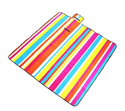 Ppy778 Picknickdecken im Freien kampierender kampierender Teppich, der untere Abdichtung verdickt (Color : 7#, Size : Flocked) (Teppich Abdichtung)