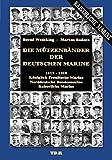 Die Mützenbänder der Deutschen Marine. 1815-1918. Königlich Preußische Marine. Norddeutsche Bundesmarine. Kaiserliche Marine