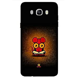 Red Face - Mobile Back Case Cover For Samsung Galaxy On 8