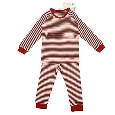 babiesnature bambú rayas pijama manga larga Bebé Niño y Niña Algodón Orgánico