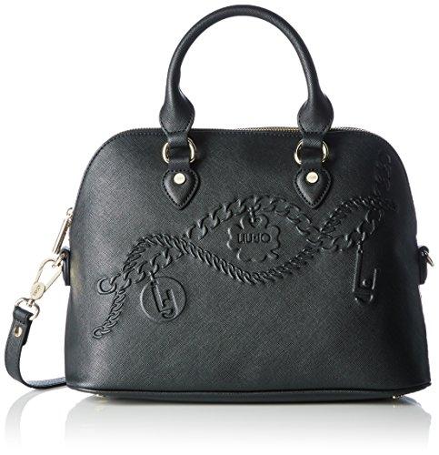 LIU JO CORALLO SHOPPING BAG N66228E0140-22222 Black