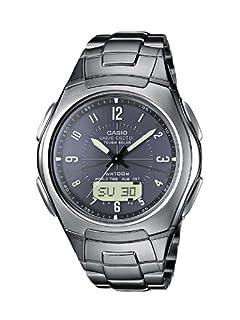 Casio RADIO CONTROLLED Men's Watch WVA-430TDE-1A2VER (B0006FL86Y) | Amazon price tracker / tracking, Amazon price history charts, Amazon price watches, Amazon price drop alerts