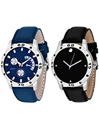 On Time Octus Combo Of 2 Analog Watch For Boys And Mens- OT-205-209