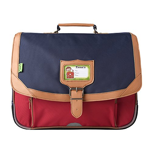 Cartable 38 Bleu-Rouge Tann's ICONIC