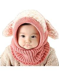 ... Cou Enfant Cagoule Bébé Garçon Fille Cache Oreilles Capuche Chapeaux ·  EUR 9,99 · JT-Amigo - Cagoule Bonnet et écharpe Hiver - Bébé a8baaad315d