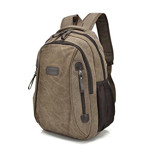 SZH&BEIB Unisexsegeltuch-Rucksack beiläufige Art und Weise im Freien Travel Gear Schule und Beruf Laptop-Tasche A