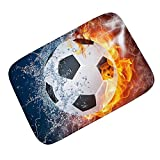 TOOGOO Alfombra de franela de Patron de futbol - Best Reviews Guide