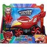 PJ Masks Power Racer Vehicle & Figure - Owlette