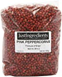 JustIngredients Essential Rosa Pfefferkörner, Pink Peppercorns, 1er Pack (1 x 250 g)