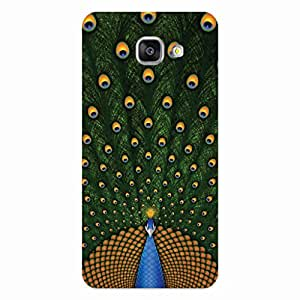 GripIt Peacock Back Cover for Samsung Galaxy A7 (2016)