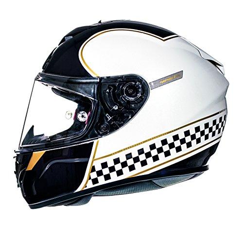 MT Products MT Rapide Renaissance weiß/gold mit Motorrad, Motorrad, Glossy XS
