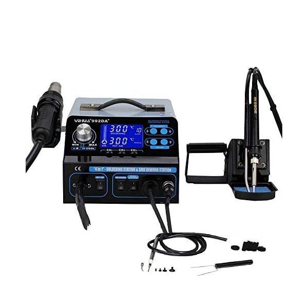 Italtronik YIHUA 992DA – Estación de soldadura y desoldadura profesional,