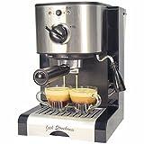 Jack Stonehouse 15 bar Espresso and Cappuccino Coffee Maker Machine, Coffee Machine