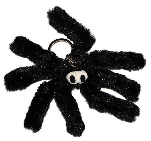 sselanhänger Spinne - 14 cm - Puppe Vampir Dracula Plüschspinne Weberknecht gruselig Plüsch Anhänger Gothik (Schwarze Witwe-puppe)