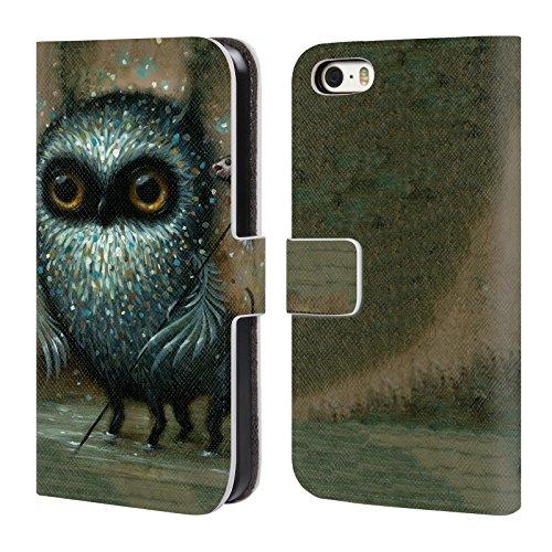 Head Case Designs Offizielle Jason Limon Jagd Aliens Brieftasche Handyhülle aus Leder für Apple iPhone 5/5s/SE