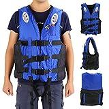 Universal Schwimmwesten für Kinder und Erwachsene Unisex Rettungsweste Blau S M L XL XXL & Super Super (XL)
