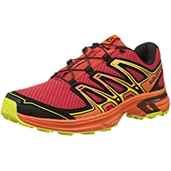Salomon Wings Flyte 2 Zapatillas de Trail Running Hombre, Rojo (Barbados Cherry/Scarlet Ibis/Sulphu), 43 1/3 EU (9 UK)
