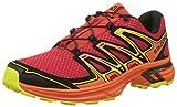 Salomon Wings Flyte 2, Chaussures de Trail Homme - Rouge (Barbados Cherry/Scarlet Ibis/Sulphur), 48 EU (12.5 UK)