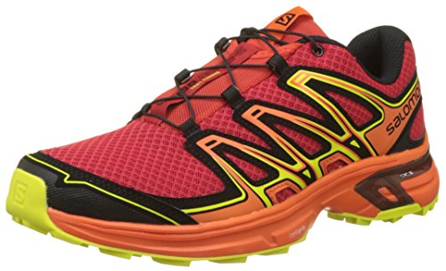 Salomon Wings Flyte 2 Zapatillas de Trail Running Hombre, Rojo (Barbados Cherry/Scarlet Ibis/Sulphu), 42 2/3 EU (8.5 UK)