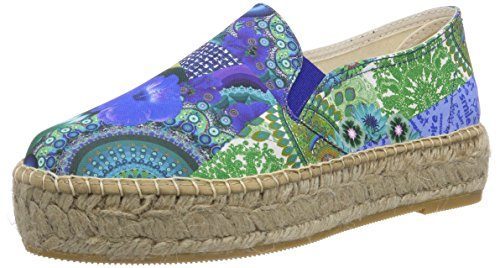 Desigual SHOES SOL, Espadrillas donna, Turchese (Türkis (5024)), 39